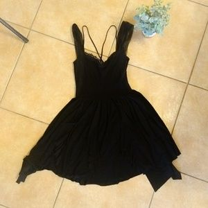 Free People Black dress